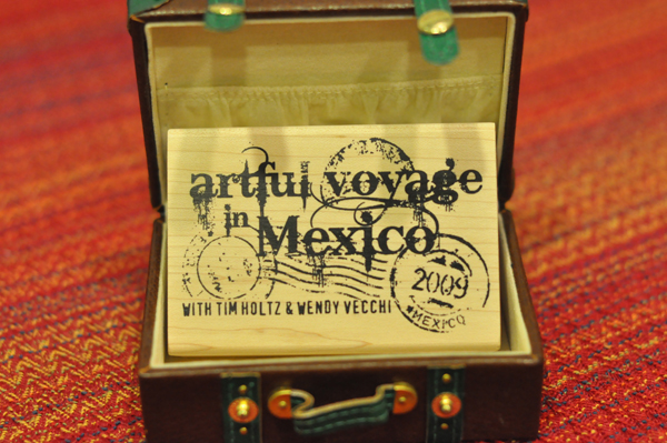 28-Artful stamp
