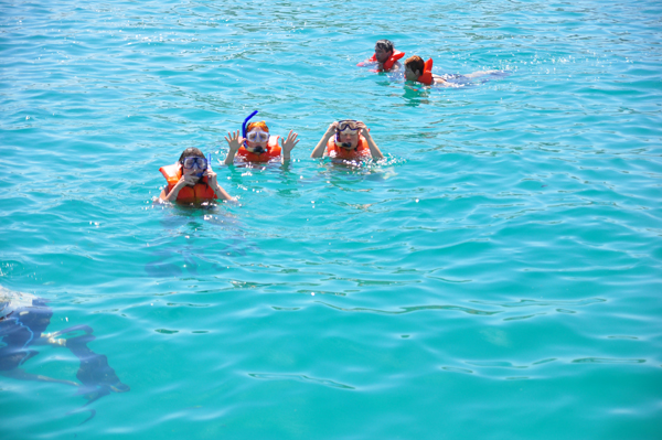 Cabo13-first time snorkeling