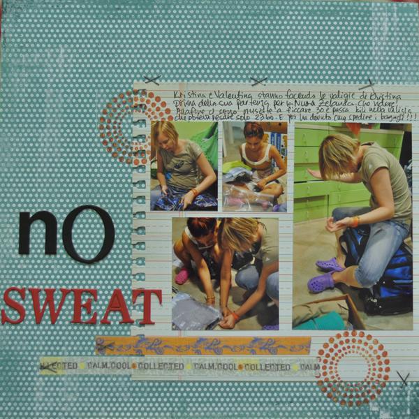 Challenge 1 - No sweat