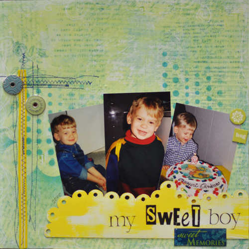 My sweet boy-challenges