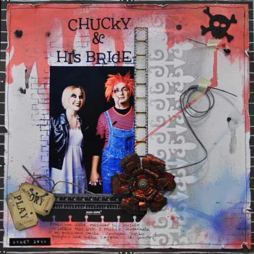 Chucky and his bride