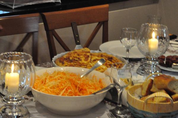 Sat dinner1