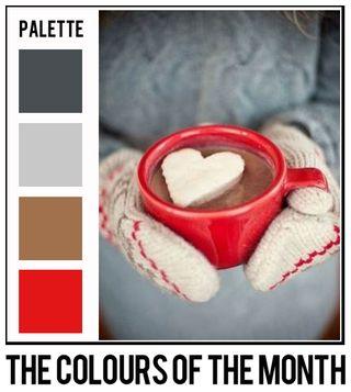 February colors