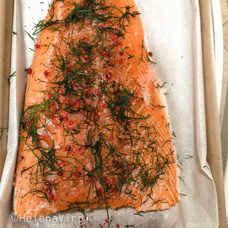 Salmon in the oven